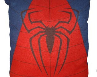 Spiderman Pillow 17 x 17 Spider Man Dream Cotton Linen Spider-Man Avenger
