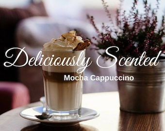 2 or 4 oz MOCHA CAPPUCCINO Premium fragrance oil, candles, soap, perfume, cosmetics, scented oil, candle making, soap scents, fragrance, diy