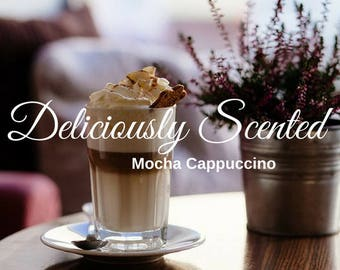 1/2 or 1 oz MOCHA CAPPUCCINO Premium Fragrance Oil, candles, soap, perfume oil, cosmetics, soap making, scented oil, home fragrance, scents