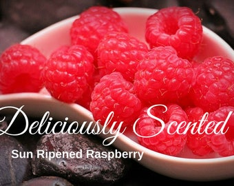 1/2 or 1 oz SUN RIPENED RASPBERRY Premium Fragrance Oil, candles, soap, perfume oil, cosmetics, soap making, scented oil, home fragrance