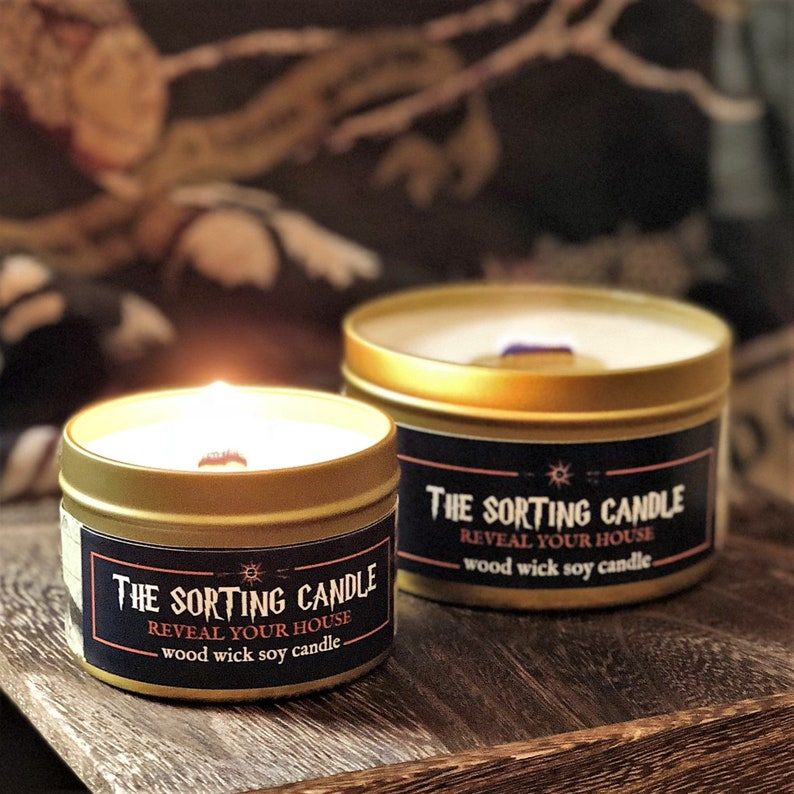The SORTING CANDLE  Wood Wick Soy 4 oz  Magically image 0