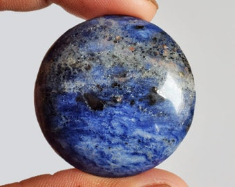 Pendant Stone Loose Semi Precious AG-12596 Handmade Beautiful Round Shape Natural Pinolith Cabochon Wholesale Price Size 26x26x3 MM