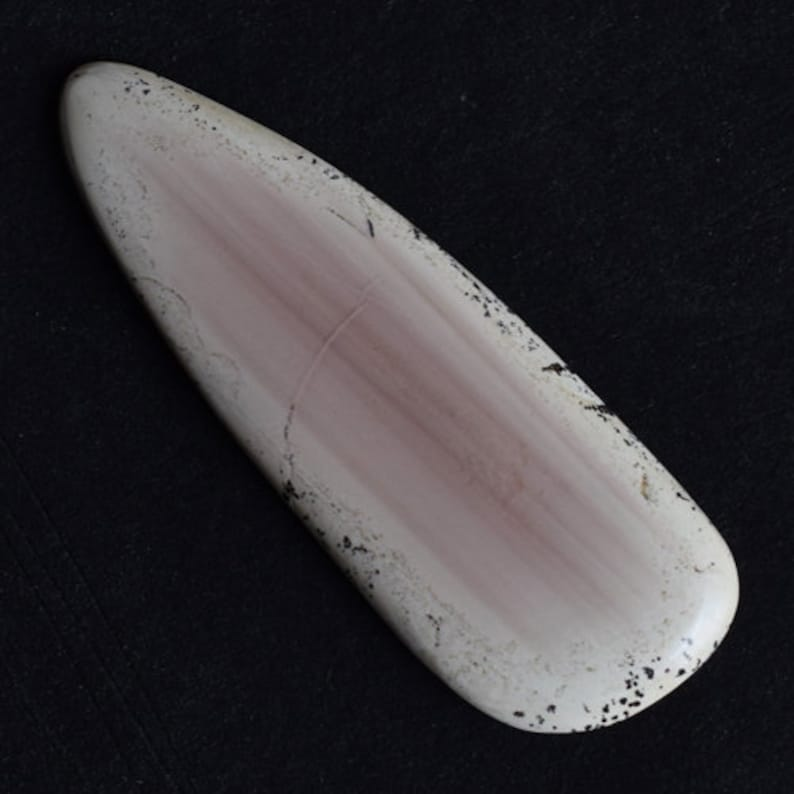 Pendant Stone Flat Back 14169 Natural Imperial Jasper Cabochon Jasper Suppliers Size 55x19x3.5 MM Jewellery Materials Smooth Polished