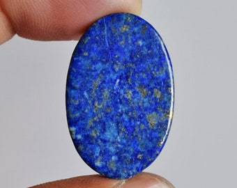 Natural Blue Lapis Lazuli Oval Cabochon, Size 27x18x4 MM, Loose Semi Precious, Lapis Suppliers, New Pendant Stone, Jewellery Gemstone, 11718