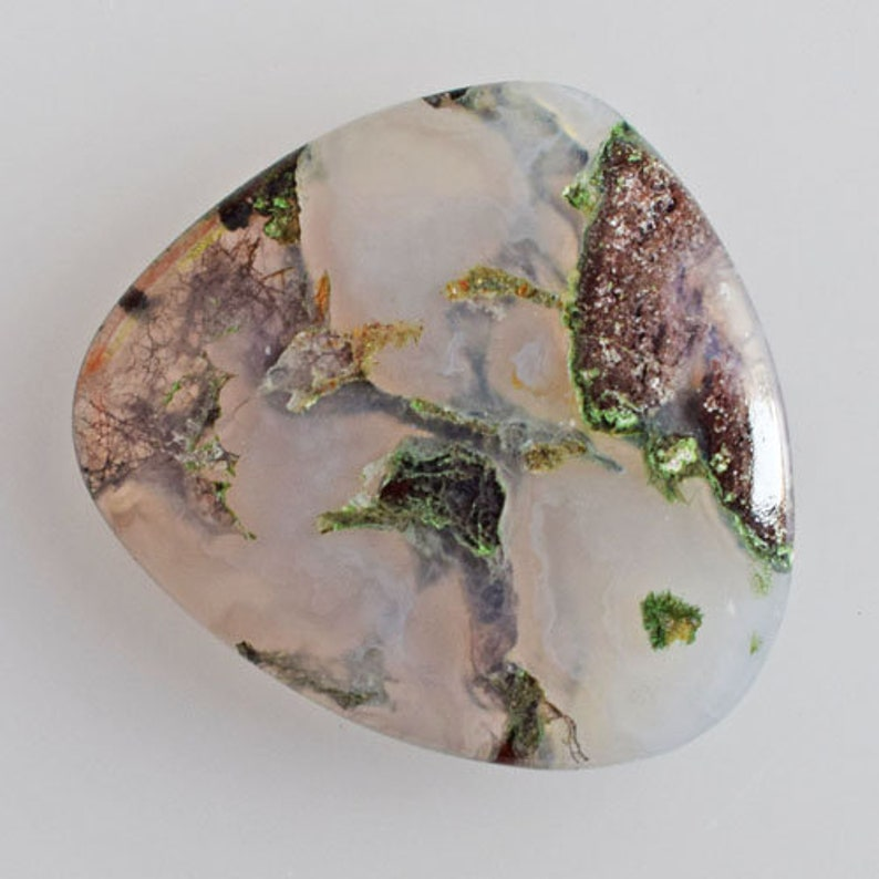 Pendant Stone Crafts 20098 Size 26x24x3 MM Genuine Moroccan Apple Valley Agate Cabochon Loose Gemstone Jewellery Making Agate Suppliers