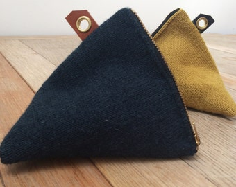Mini Knitted Guernsey Pouch