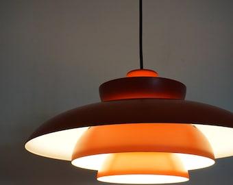 Fog Morup vintage pendant lamp retro Penta mid century