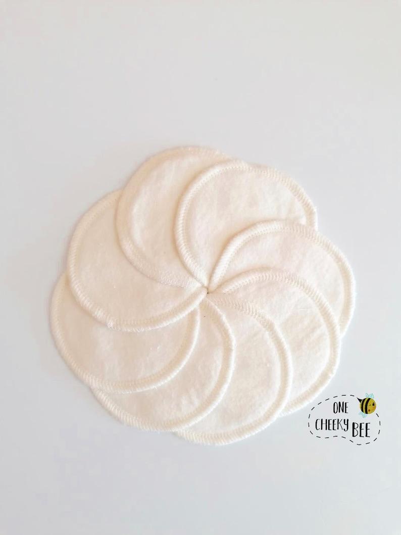 Cotton facial rounds self care unpaper towels zero waste image 0