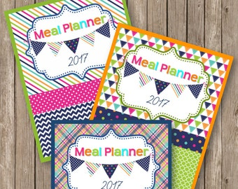 Summer Days Meal Planner Covers