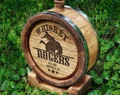 Rodeo Whiskey Barrel - Personalized Whiskey Barrel 1-2 - Personalized Mini Whiskey Barrel - Custom Wooden Barrel For Whisky - Gift for Him