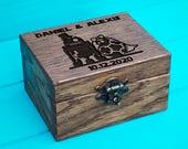 Star Wars Ring Box ring box Ring Bearer Proposal Box Custom ring box Personalized Ring Box wood Jewelry Wooden Ring Box wedding decor