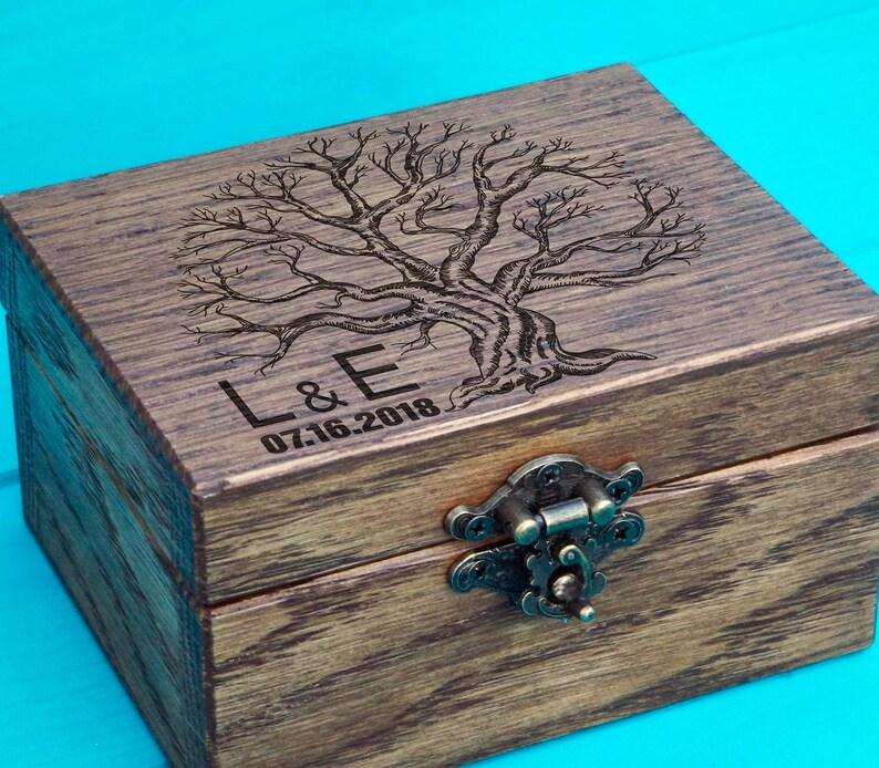 Personalized Ring Box  Rustic Ring Box  Proposal ring box  Engagement box  Ring Holder Wooden Ring Box  Custom wedding  rustic weding