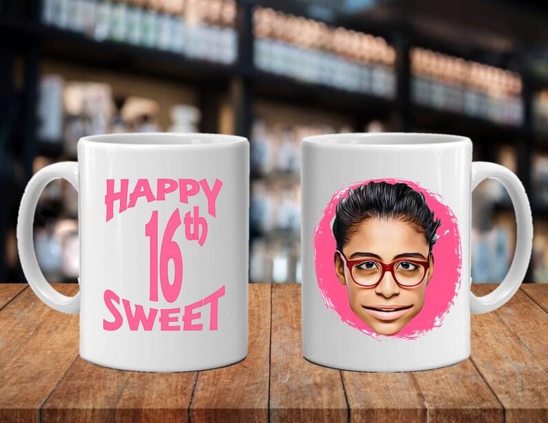 Sweet 16 Teen Birthday Gift Ideas Cartoon Caricature
