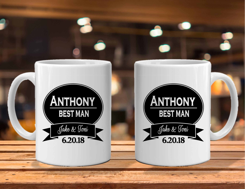 Coffee Mug Groomsman Gift Ideas Groomsman Mug Wedding Party Gifts