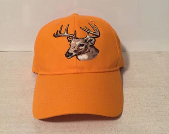f06ba3b0be4 Embroidered Deer Head Cap