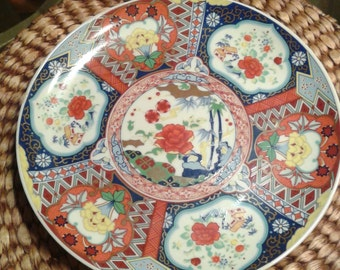 Large Japanese Plate