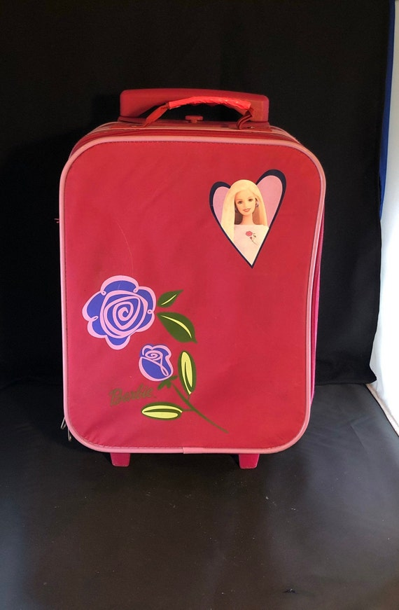 Retro Barbie Luggage, Barbie Doll Image, Carry-On