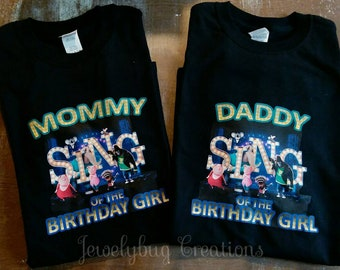 5bcd60d8d Sing family tees. Family tees for sing tee shirts