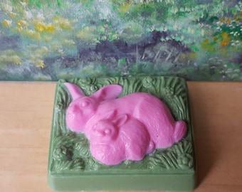 Bunny Natural Goat's Milk and Oatmeal Soap