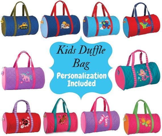 509f43e6eba7 Personalized Kids Duffle Quilted Bag-Girls Duffle Bag-Boys