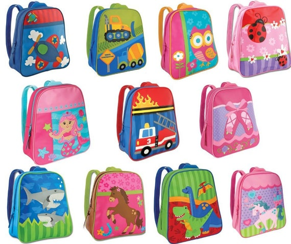 3e6e33a6fb Personalized Toddler Backpack Stephen Joseph Go Go Backpack