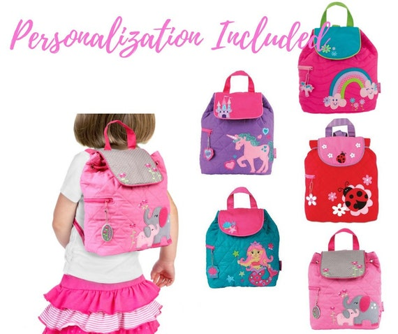 541ec41bf7e2 Personalized Quilted backpack-Monogram Backpacks-Preschool