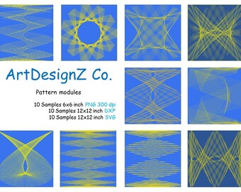 Digital modules for patterns