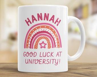Custom University Gift, Good Luck at Uni, Graduation Coffee Mug, University Mug, Graduation Gift Daughter & Son, Student Gift, Student Mug