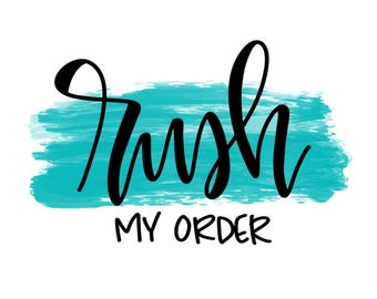 RUSH MY ORDER! **Gift Bag Orders Only**