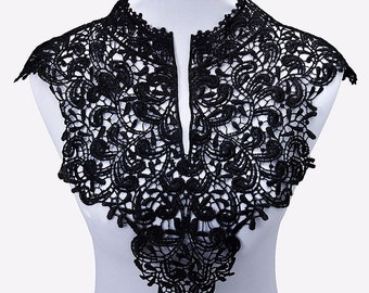 1pc Beautiful Water Soluble Lace Neckline