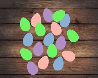 Easter confetti- Easter egg confetti- Easter decor- Classroom easter decor- Easter party confetti- Easter egg decor- Easter kids party- Eggs