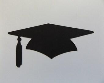 Scegliere colore Pack di 10 laurea cappello carta Die tagli Graduation Cap  Cut Outs cartoncini 29 colori tra cui scegliere 68efebd596d6