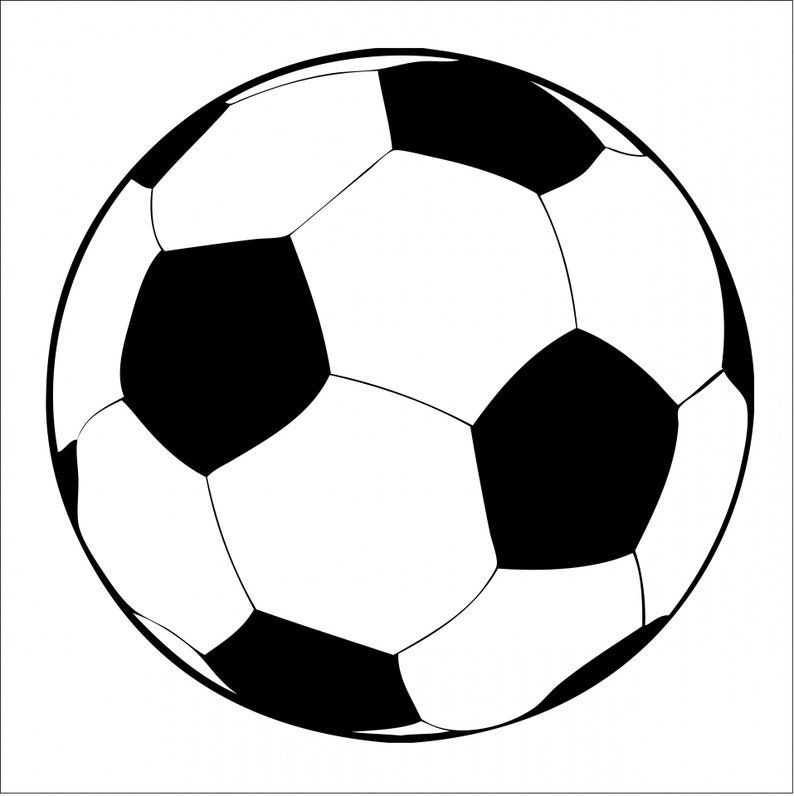 0236a3bd129 Pack of 10 Soccer Ball Die Cuts Cut Outs 65 lb Cardstock