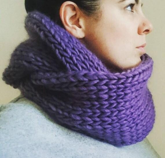 DIY Kit de tricot écharpe infini, débutants en tricot Kit, infini écharpe  en tricot Kit, grosse maille, Chunky ... ec44db3b731