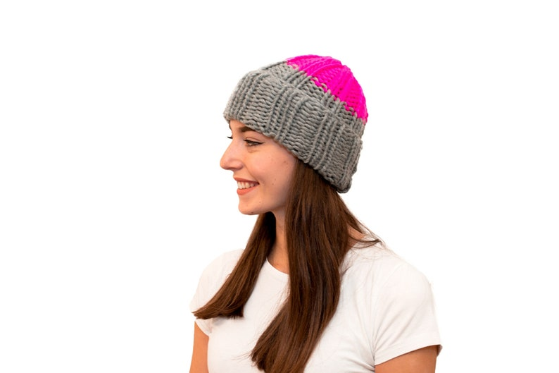 2a98abada30 POP Beanie Knitting Pattern Instant PDF Download