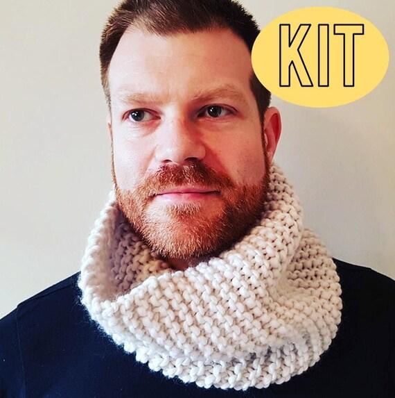 DIY Kit stricken stricken Anfänger Kit Super einfache Snood | Etsy