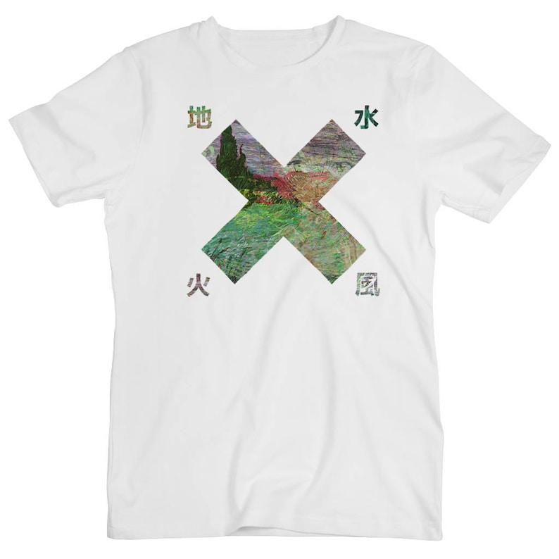 X Japan Tokyo Osaka Nature Old Graphic Vaporwave Anime Art 3D Svg Japanese  Arrow Graphic Heart Design Print Logo White Men's Women's T Shirt