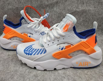 a3a96ceb57f6 ... painted personalized 709d8 29ba9 hot customized nike huarache x off  white shoe old skool 73ee7 fd641 ...