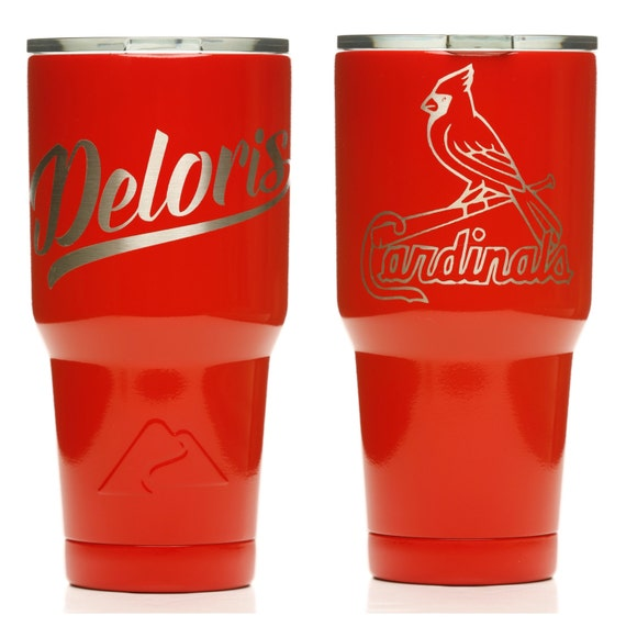 749f3b31644 Favorite Sports Team - Personalized Yeti, Rtic, Ozark Trail - Single-Color  w/ Design (NO Decals, All Powder)