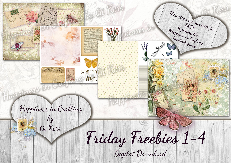 Friday Freebies 20 20   Instant Digital Download