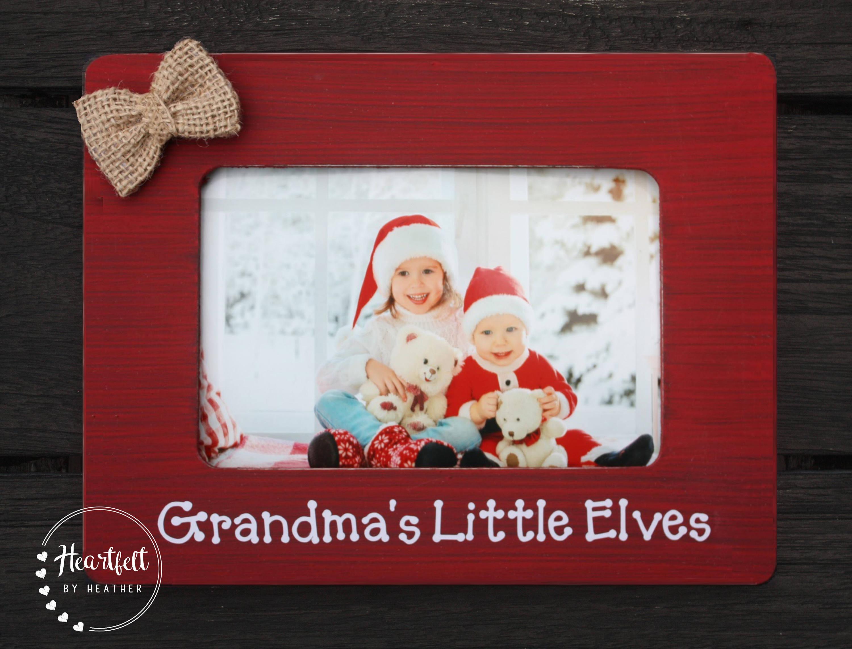 Grandma Christmas Frame Grandma Christmas Gift for Grammy Granny ...