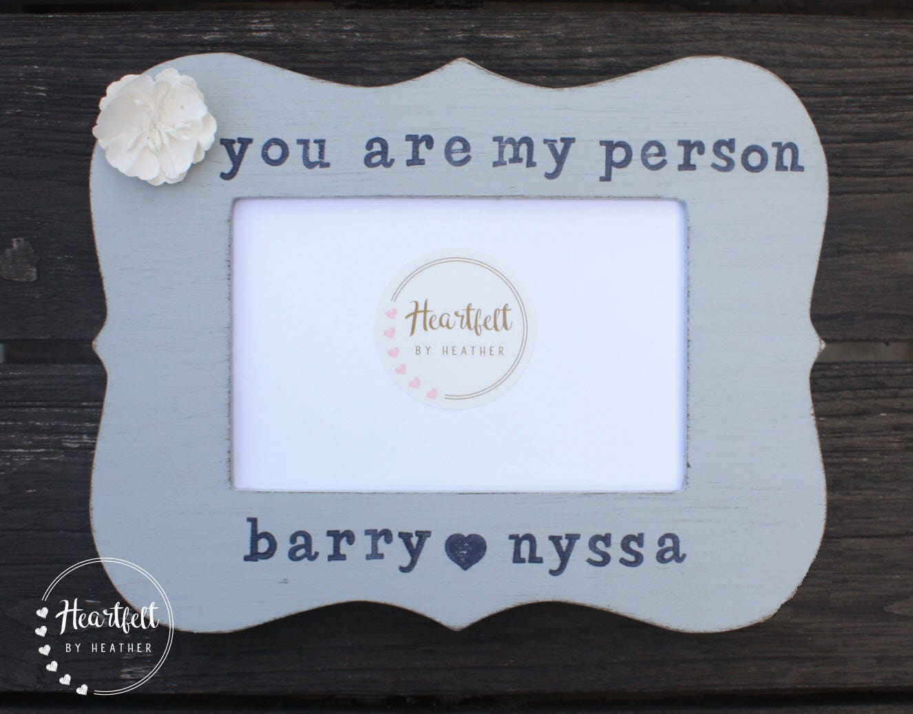 Personalized You Are My Person Frame - Sentimental Gifts for Her ...