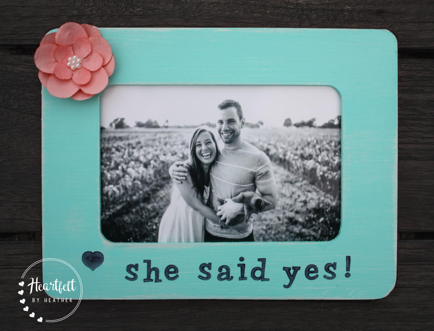 Personalized Engagement Gift for Couple Personalized Picture Frame ...