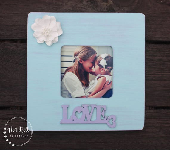 Love Picture Frame Personalized Baby Gift Baby Shower Gift Etsy