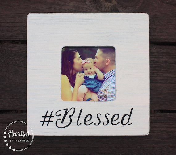 Blessed Frame - Wood Photo Frame - Spiritual Gifts- Blessed Mama ...