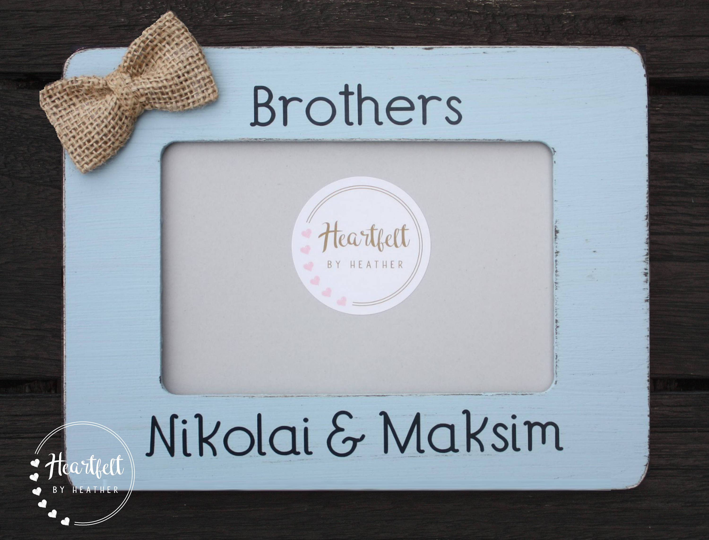 Personalized Brothers Frame - Custom Brother Gift - Big Brother Gift ...