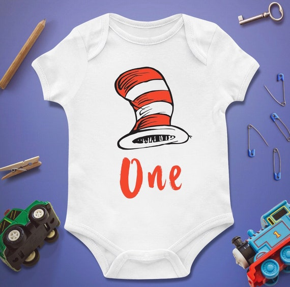 Dr Seuss Baby Shower Bodysuit Onesie First 1st Birthday Etsy
