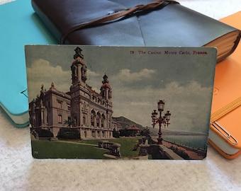 Vintage Casino Monte Carlo France Postcard