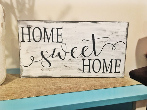 Home Sweet Home Rustic Home Decor Rustic Living Room Decor Etsy