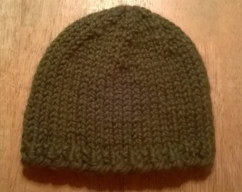 Handmade Men's Knit Hat